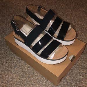 UGG Braelynn wedge sandals. 6